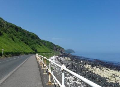 Irlandia Pólnocna- Coast Road i Carnfunnock