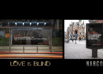 Netflix nie spoileruje seriali billboardami. Ta kampania nie jest prawdziwa