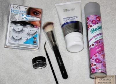 Haul kosmetyczny eZebra i Inglot | Desperate Housewife
