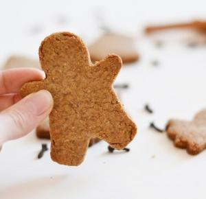 Just Say Hei: ❅CHRISTMAS DIY❅ Vegan gingerbread cookies