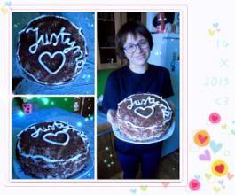 Rena Uchiha: Słodkości by Rena #3 Tort urodzinowy!
