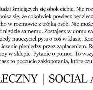 Fobia społeczna | Social anxiety