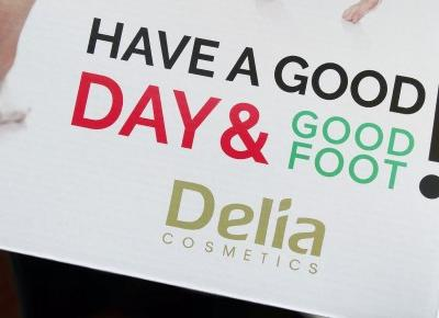 R I L S E E E : GOOD FOOT - recenzja Delia Cosmetics