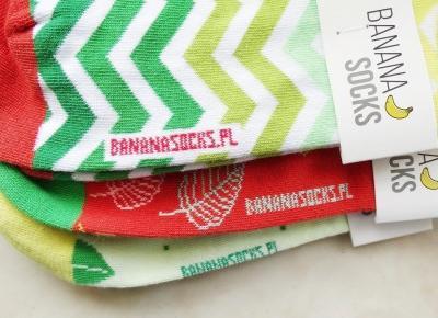R I L S E E E : Banana socks - recenzja