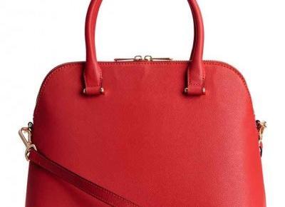 It`s all about RED - przegląd ubrań i dodatków z sieciówek