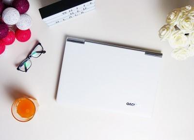 Biały laptop czyli (nie) babskie fanaberie