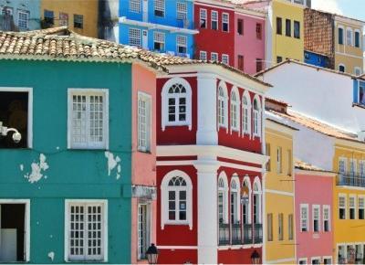 10 najbardziej kolorowych miast na świecie