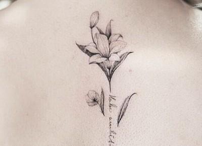 10 najpiękniejszych tatuaży z motywem kwiatowym