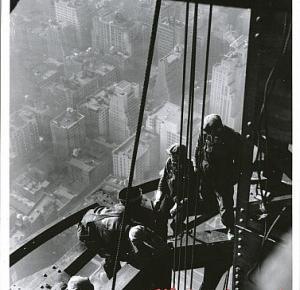 Oryginalne zdjęcia z budowy Empire State Building
