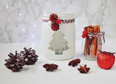 Fotografia by M: Słoiki w świątecznej odsłonie - diy