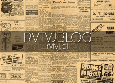 Aktualizacja bloga! Nowości i zmiany- pierwsza aktualność | RVTVJ BLOG