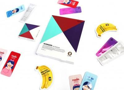 Haruharu, Wonder Starter Kit - Anti-Oxidant, Brilliant, Repairative, Aqua Bomb - Zestaw startowy zawierający cztery różne maski w płachcie - Sakurakotoo