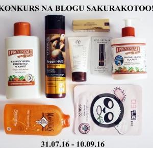 Drugi konkurs na blogu Sakurakotoo! ~ Sakurakotoo