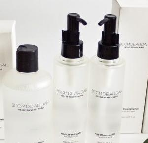 Boom De Ah Dah, Pure Cleansing Water, Pure and Mild Cleansing Oils ~ Sakurakotoo