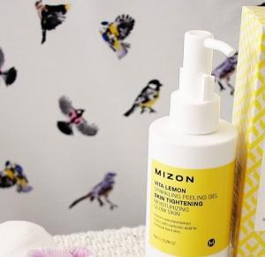 Mizon, Vita Lemon Sparkling Peeling Gel ~ Sakurakotoo