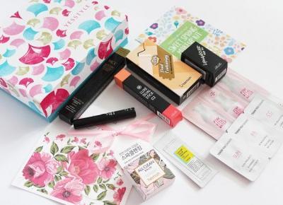 YesStyle, Korean Beauty Box - Sweet Spring Makeup Kit, czyli zestaw kosmetyków idealnych na wiosnę ~ Sakurakotoo