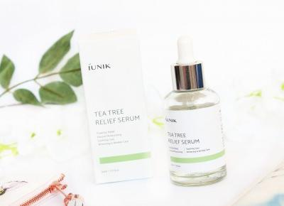 iUNIK, Tea Tree Relief Serum - Sakurakotoo