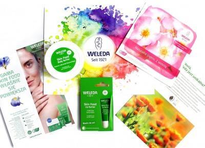 Weleda, Silnie nawilżające kosmetyki z serii Skin Food - masło do ciała oraz balsam ochronny do ust - Sakurakotoo