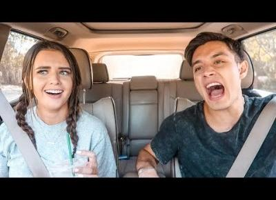 HUSBAND & WIFE HIGH SCHOOL MUSICAL CARPOOL KARAOKE