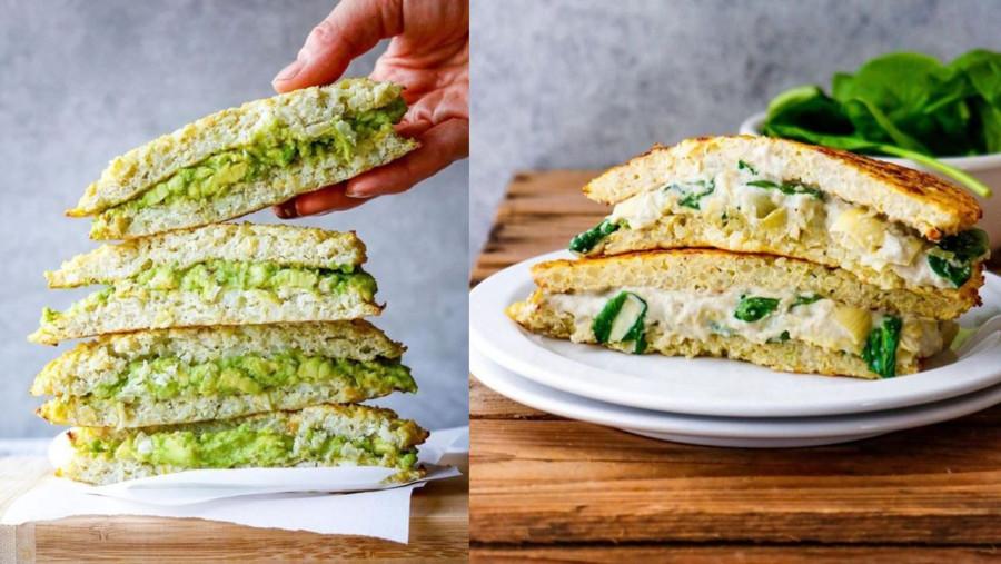 Zdrowy i niskokaloryczny chleb z kalaforia.