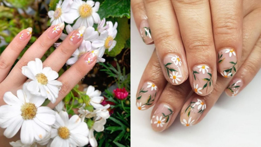 Daisy nails to najpiękniejszy manicure, jaki można sobie wymarzyć. Zakochasz się!