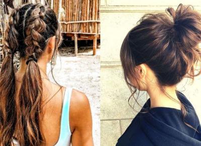 Błyskawiczne upięcia dla długich włosów. Idealne fryzury na wakacje.