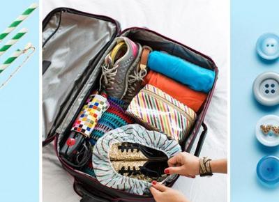 Pomysłowe sztuczki, które przydadzą się przy pakowaniu bagażu