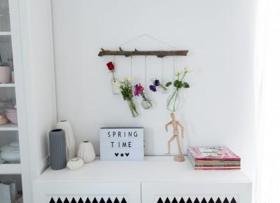 Dekoracje kwiatowe DIY na lato za grosze - Projekt Dom