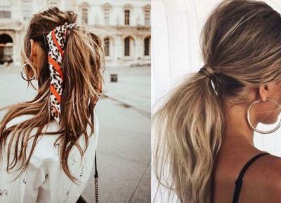 School girl ponytail. Jak zrobić najmodniejszy kucyk z Instagrama?