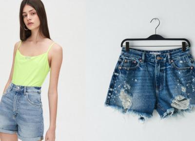 Szorty typu mom waist. 10 idealnych modeli na lato.