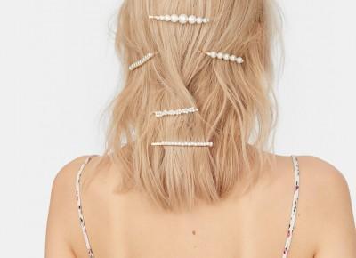 Gdzie kupić perłowe spinki do włosów?   Papilot
