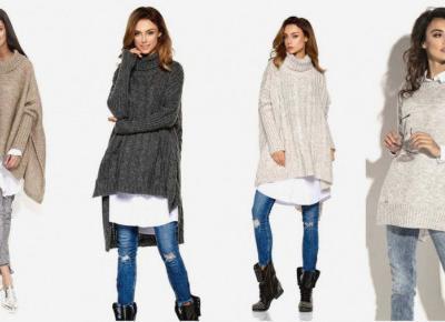 Najpiękniejsze swetry oversize na jesień 2020.
