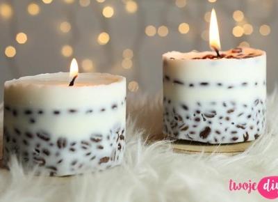 Kawowe świeczki - zrób sobie sam! - Twoje DIY