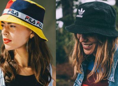 Bucket hat, czyli kapelusz rybaka wraca do łask. Najładniejsze modele na lato 2020.