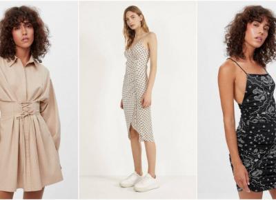 7 sukienek z BERSHKI, którym trudno się oprzeć.