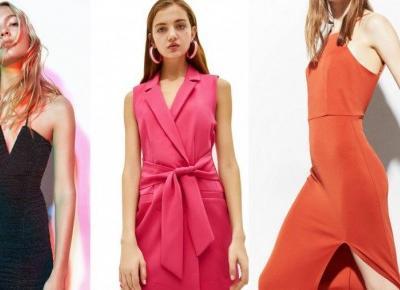 BERSHKA: 10 zjawiskowych sukienek na letnie wesele | Papilot