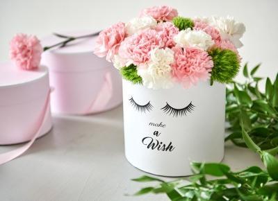 blog diy, blog zrob to sam, flower box, flower box diy, jak zrobić pudełko z kwiatami, pudełko z kwiatami | Lady of the House