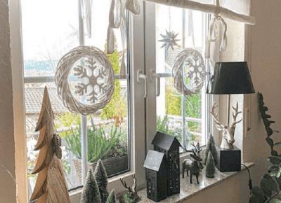 Zdobienie okien na Święta - na co się zdecydować?
