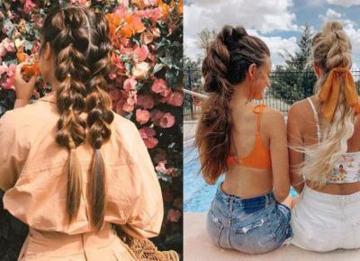 Bubble Braids: modne fryzury na lato 2020. Jak zrobić te warkocze.