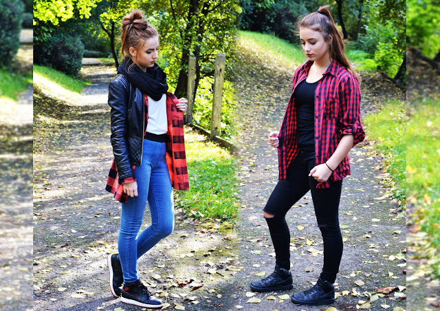 RED SHIRT | AUTUMN OUTFIT