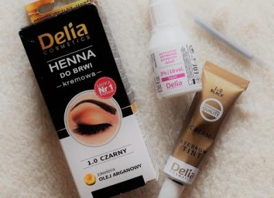 DELIA HENNA DO BRWI - IDEALNE BRWI | secret-em
