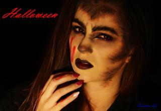 Seductive eye: Halloween- Werewolf