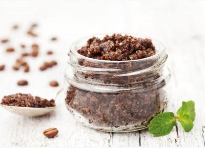 PEELING KAWOWY na cellulit - przepis na domowy peeling z kawy