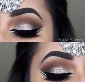 Hello to my world! :): Makijaż na studniówkę (mocny makijaż oka) ♥