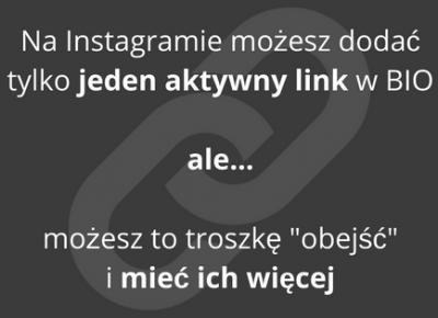 Jak dodać kilka aktywnych (klikalnych) linków na Instagramie? | Pani Serwisantka - o komputerach i internecie