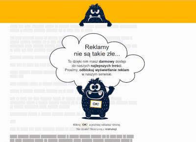Jak zablokować upierdliwe reklamy na stronach www?