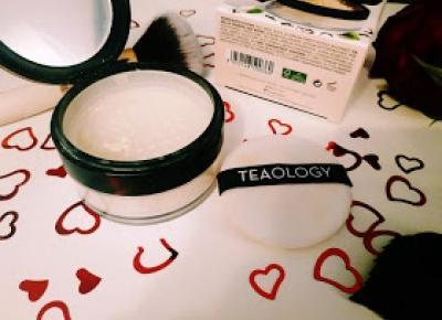 Shikatemeku.pl: TEAOLOGY- puder pielęgnujący do twarzy z naparem z białej herbaty. [opinia, recenzja]