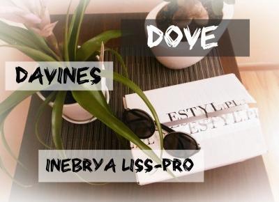 Mondayxmorning: #3 OPENBOX DAVINES DOVE INEBRYA LISS-PRO