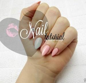 Dziewczęco.pl: Tutorial paznokciowy: różowa brzoskwinka i idealna syrenka