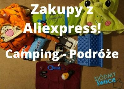 PozaPodróżami #2 - Sprzęt turystyczny z Aliexpress